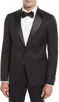 Z Zegna 2264 Z Zegna Men's Satin-Lapel Tuxedo Suit