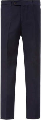 EIDOS Wool-Mohair Straight-Leg Trousers