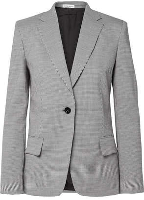 Tomas Maier Pepita Houndstooth Wool And Cotton-blend Blazer - Gray