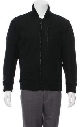 Barneys New York Barney's New York Wool Bomber Jacket