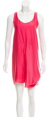 Acne Studios Charmeuse Mini Dress