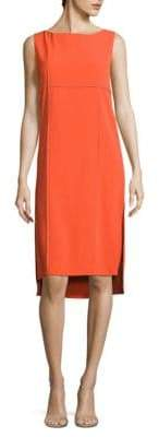 Donna Karan Sleeveless Shift Dress