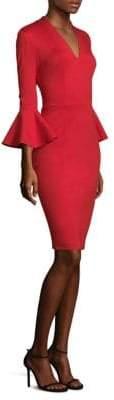 Trina Turk Lane Bell-Sleeve Dress
