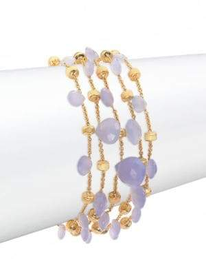 Marco Bicego Paradise Chalcedony & 18K Yellow Gold Five-Strand Bracelet
