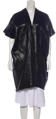 Zero Maria Cornejo Wool-Blend Oversize Coat