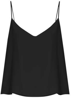 Raey Deep V-neck silk cami top