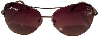 Lanvin Brown Other Sunglasses