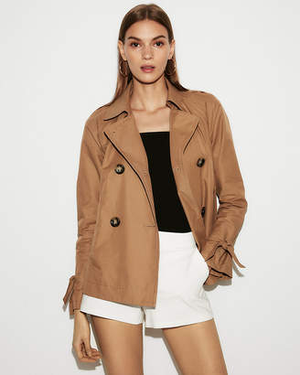 Express Double Breasted Trench Coat