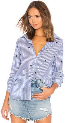 Michael Lauren Luciano Star Button Up Shirt