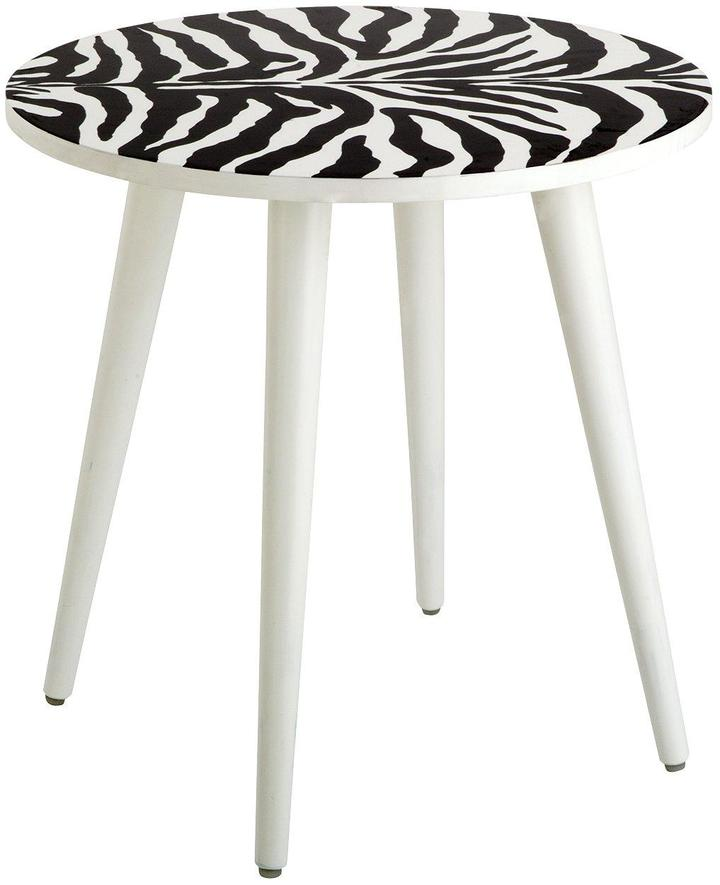 Very Teddy Side Table Zebra Print Shopstyle Co Uk Home