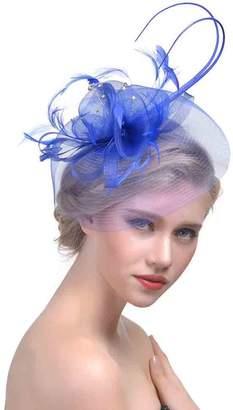 30th floor Cocktail Fashion Sinamay Fascinator Hat Flower Design Flower  Derby Hat for Women 01a704694ee