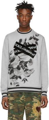 Dolce & Gabbana Grey Logo Sweatshirt
