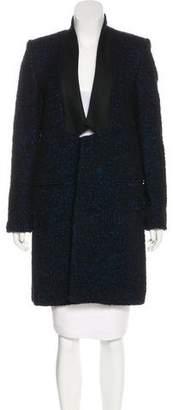 Stella McCartney Wool Bouclé Coat