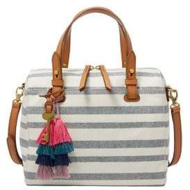 Fossil Rachel Striped Satchel