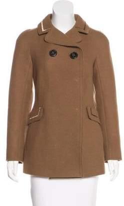 6267 Short Wool-Blend Coat
