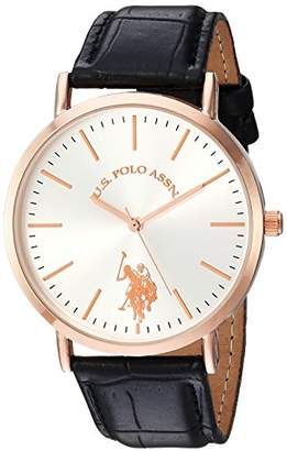 U.S. Polo Assn. Women's Quartz Metal Casual Watch