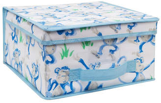 Laura Ashley Medium Collapsible Storage Box in Cheeky Monkey