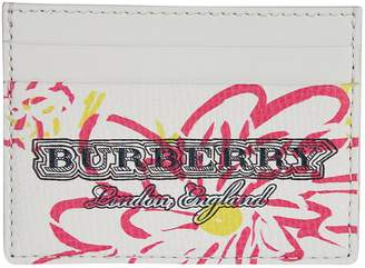 Burberry Floral Print Card Case