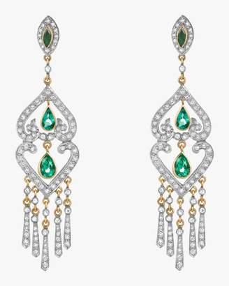 Amrapali Emerald Chandelier Earrings