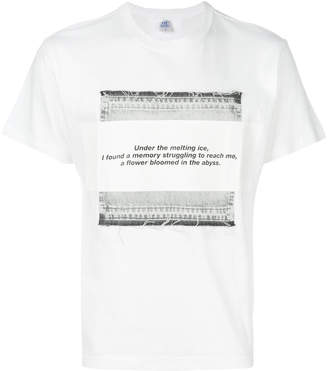 Julius text print T-shirt