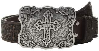 M&F Western Tooled Cross Women's Belts