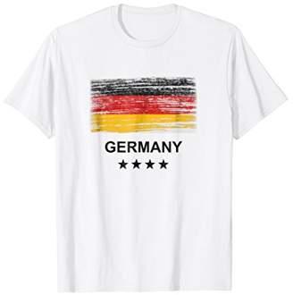 Germany soccer shirt 2018 german flag football four stars