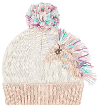 Accessorize Sparkle Unicorn Beanie Hat