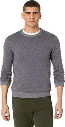 RVCA Men's Layback Stripe Crew Neck Sweater