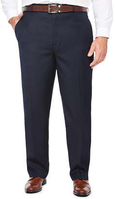 STAFFORD Stafford Stretch Flat Front Pants-Big and Tall