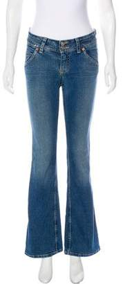 Hudson Mid-Rise Flared Jeans