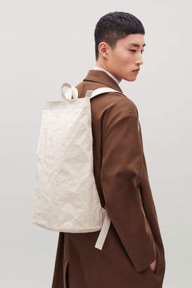 Cos CRINKLED TOTE BACKPACK
