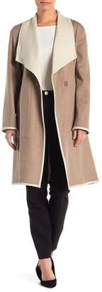Sofia Cashmere Wool Blend Wrap Coat