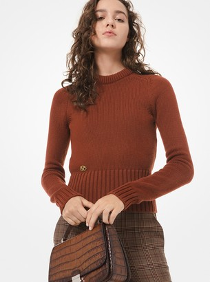 Michael Kors Monogram Cashmere Sweater