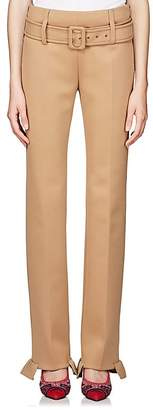 Prada Women's Neoprene Straight Pants