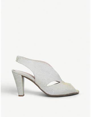 Arabella Carvela Comfort heeled sandals