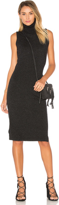 Autumn Cashmere Sleeveless Turtleneck Sweater Dress $352 thestylecure.com