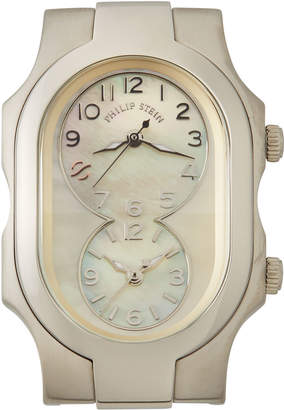 Philip Stein Teslar Small Signature Mother-of-Pearl Watch Head