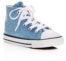 Converse Girls Chuck Taylor All Star Glitter High Top Sneakers - Baby, Walker, Toddler
