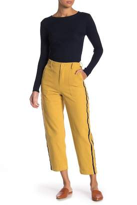 Know One Cares High Waist Twill Pants