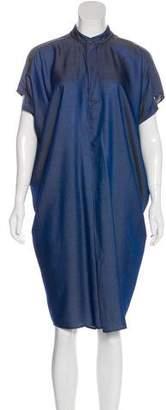 Zero Maria Cornejo Short Sleeve Shift Dress