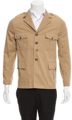 Saint Laurent Woven Field Jacket