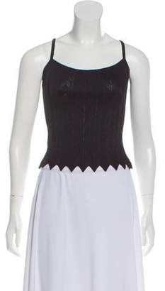 Herve Leger Knit Sleeveless Top