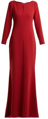 Max Mara Elba Gown - Womens - Red