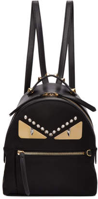 Fendi Black Mini Bag Bugs Zaino Backpack