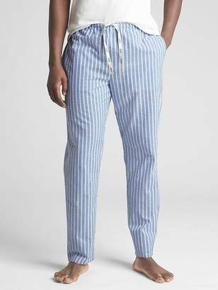 Gap Tapered Lounge Pants in Seersucker