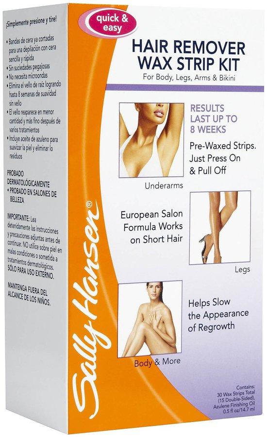 Sally Hansen Hair Removal Wax Strip - 30 ct