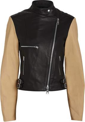Victoria Beckham Two-Tone Biker Jacket