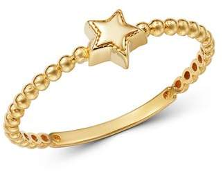 Moon & Meadow 14K Yellow Gold Star Ring - 100% Exclusive