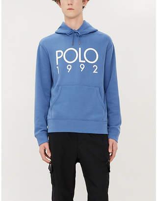 Polo Ralph Lauren Logo-print cotton-blend hoody