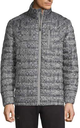 Xersion Packable Wind Resistant Lightweight Puffer Jacket